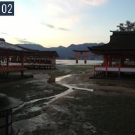 年明けに宮島に行って来ました。神社やお寺にいくのが好きです。