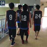 趣味でバスケットボールをしています!健康維持、ストレス発散に効果抜群です!!