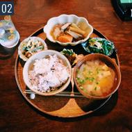 カフェ巡りを休日によくしてます。写真はモヤウのランチメニュー。